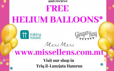 Free Helium Balloon