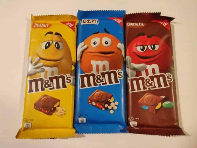 M M S Chocolate Bars Miss Ellen S